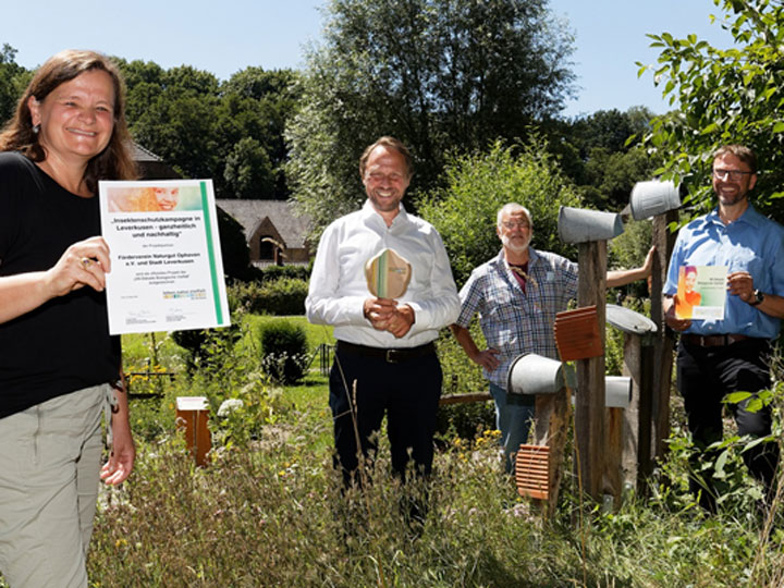 Auszeichnung Naturgut Ophoven