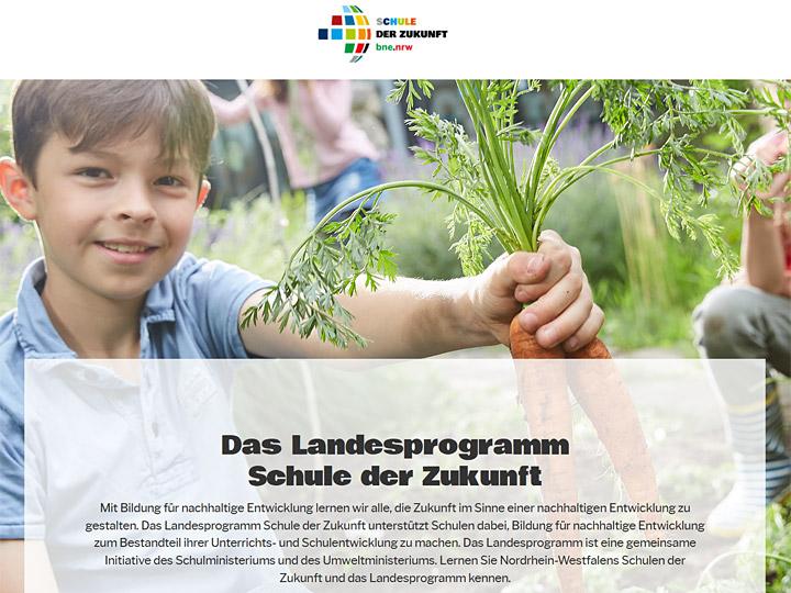 Landesprogramm Schule hat Zukunft