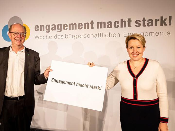 Eröffnung Woche bürgerschaftliches Engagement. fnet.