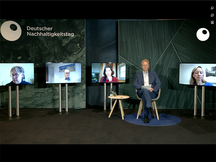 Manfred Belle moderiert Workshop auf 13. Deutschen Nachhaltigkeitstag