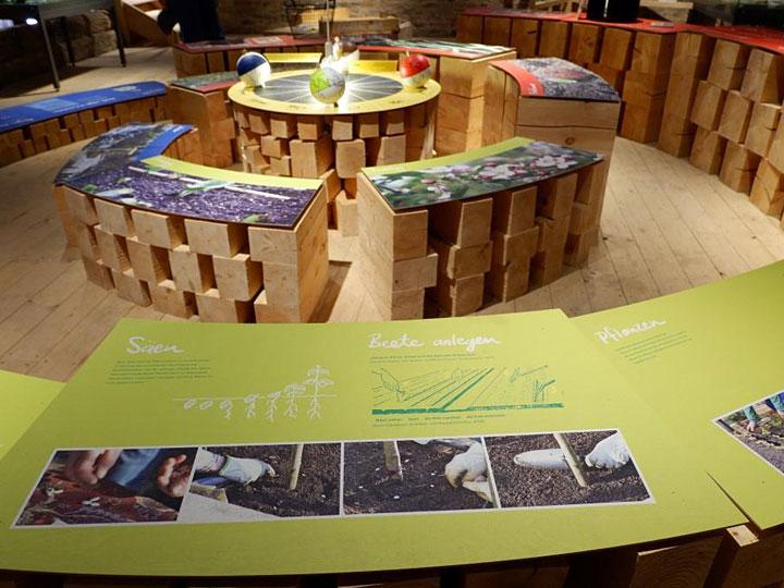 Ausstellung Stadt, Land, Garten   WILDE VIELFALT