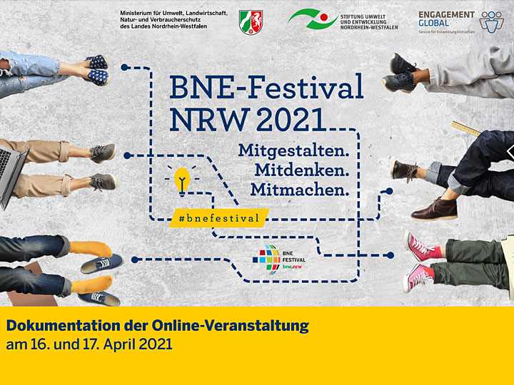 Dokumentation BNE-Festival NRW 2021