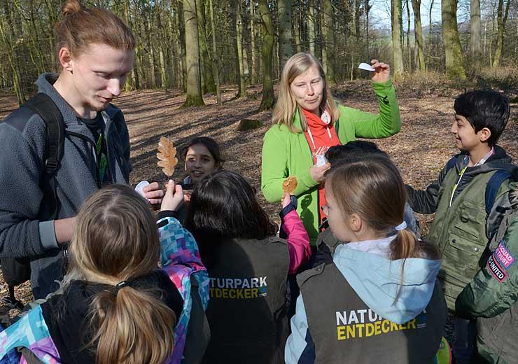 Naturparkentdecker, Rechte: Liz