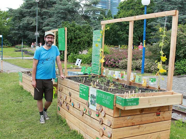 Gemeinsam Gärtnern im Weltgarten 2021 in Dortmund