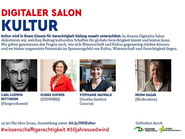 Digitaler Salon Kultur