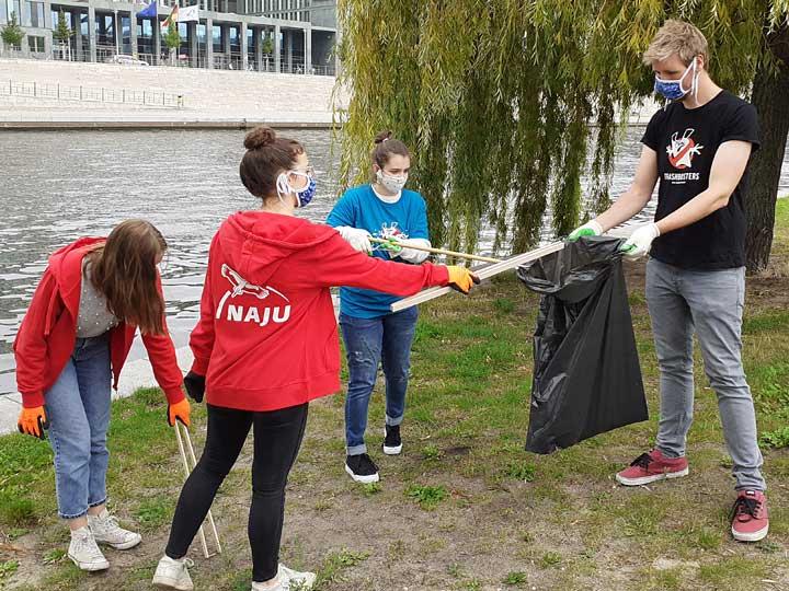 NAJU-Aktionstag Plastikmüll / Clean-up-Day