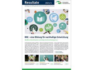 BNE-Ausgabe des Stiftungsmagazin Resultate
