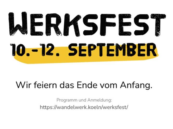 Werkfest WandelWerk